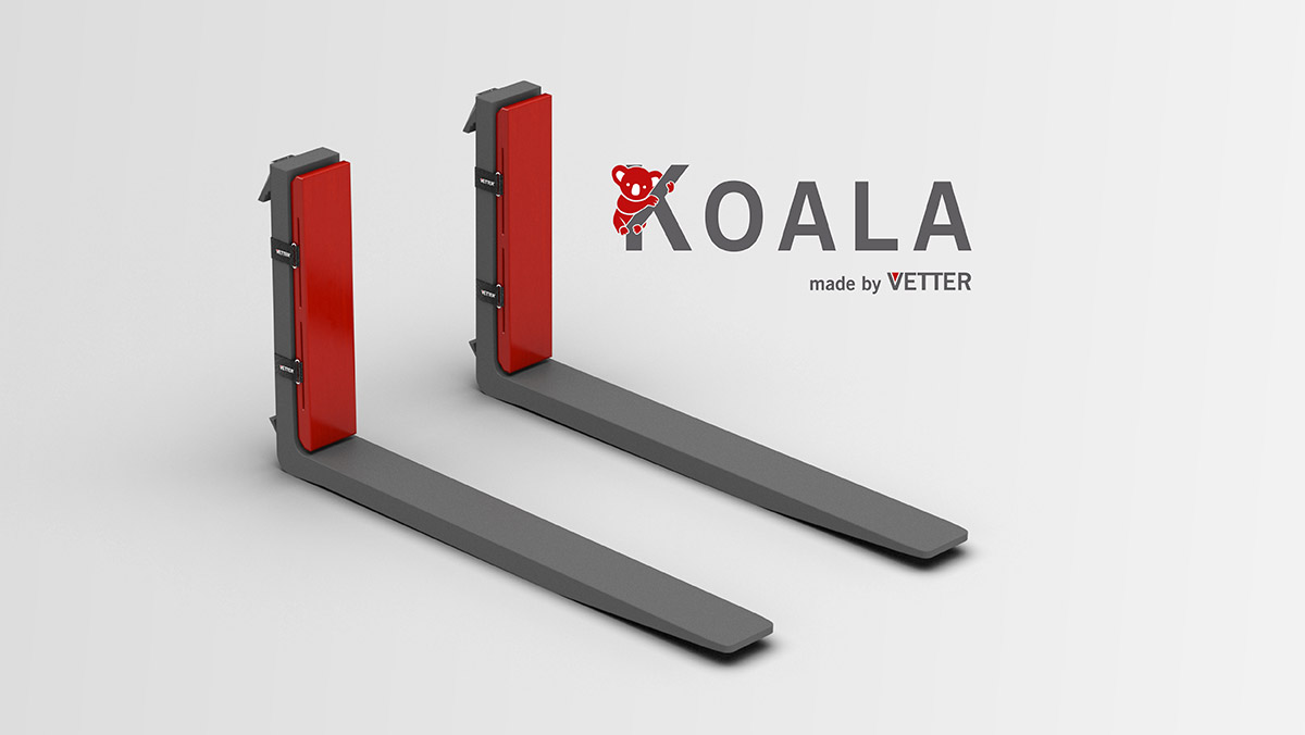 KOALA-R Impact Protector in the fork back