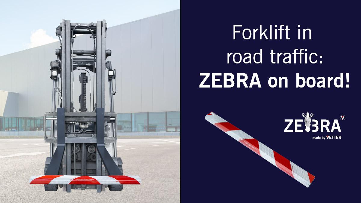 Forklifts in Road Traffic: ZEBRA on Board