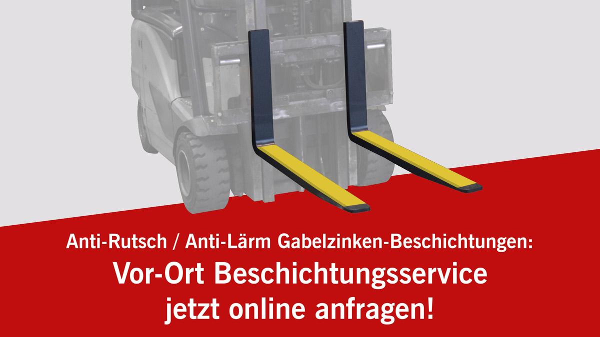 Vor-Ort Anti-Rutsch / Anti-Lärm Beschichtungen: jetzt auch online anfragen