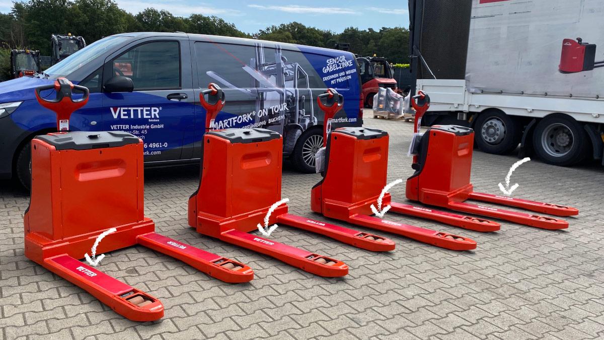 VETTER im Einsatz: Anti-Rutsch / Anti-Lärm Vor-Ort Hubwagen-Beschichtungen