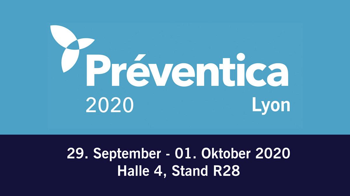 Arbeitsschutz-Messe PRÉVENTICA in Lyon vom 29. September bis 1. Oktober 2020
