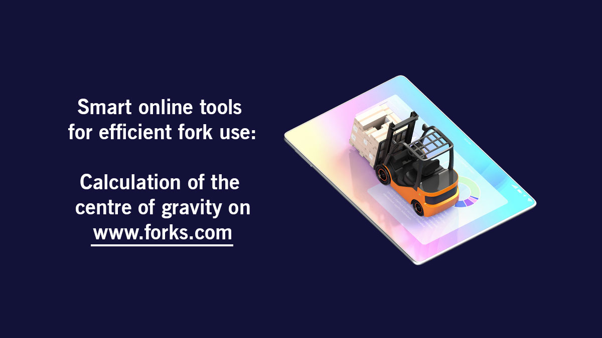 Calculation of the fork centre of gravity on www.forks.com