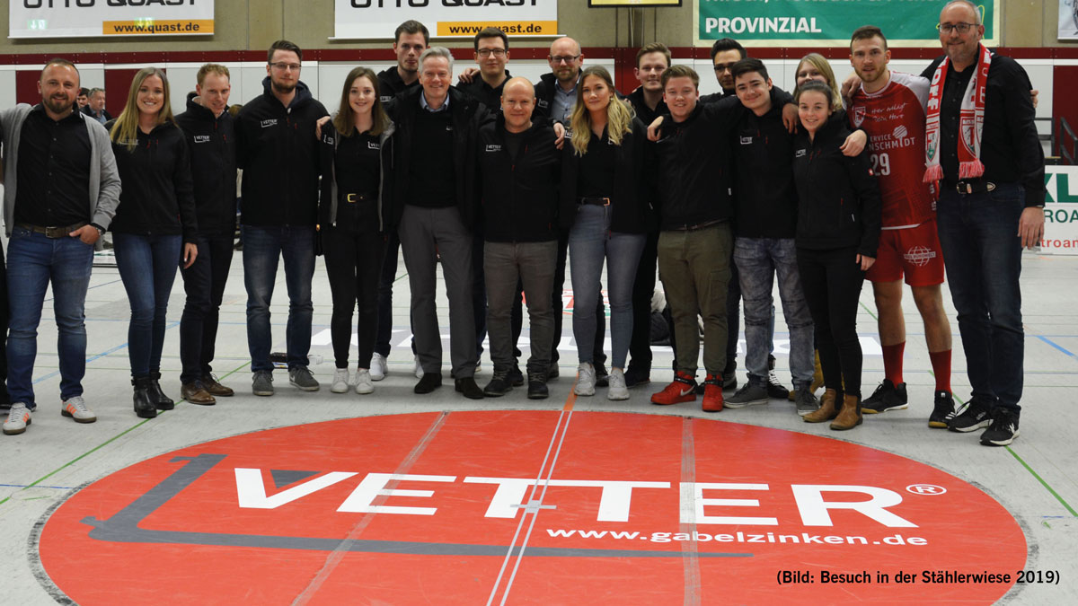 TuS Ferndorf and VETTER extend sponsorship contract