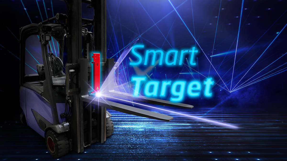 NEW! SmartTarget laser system for precise targeting of load carriers