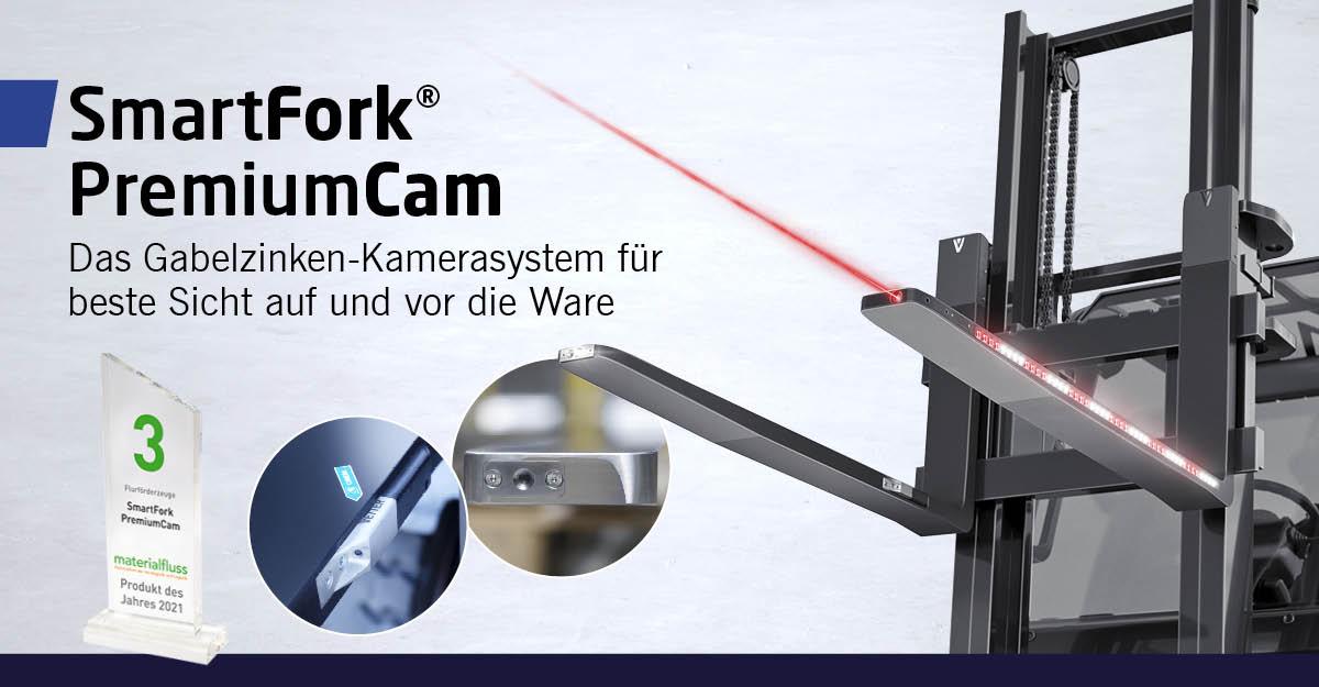 SmartFork PremiumCam: Das ausgezeichnete Gabelzinken-Kamerasystem