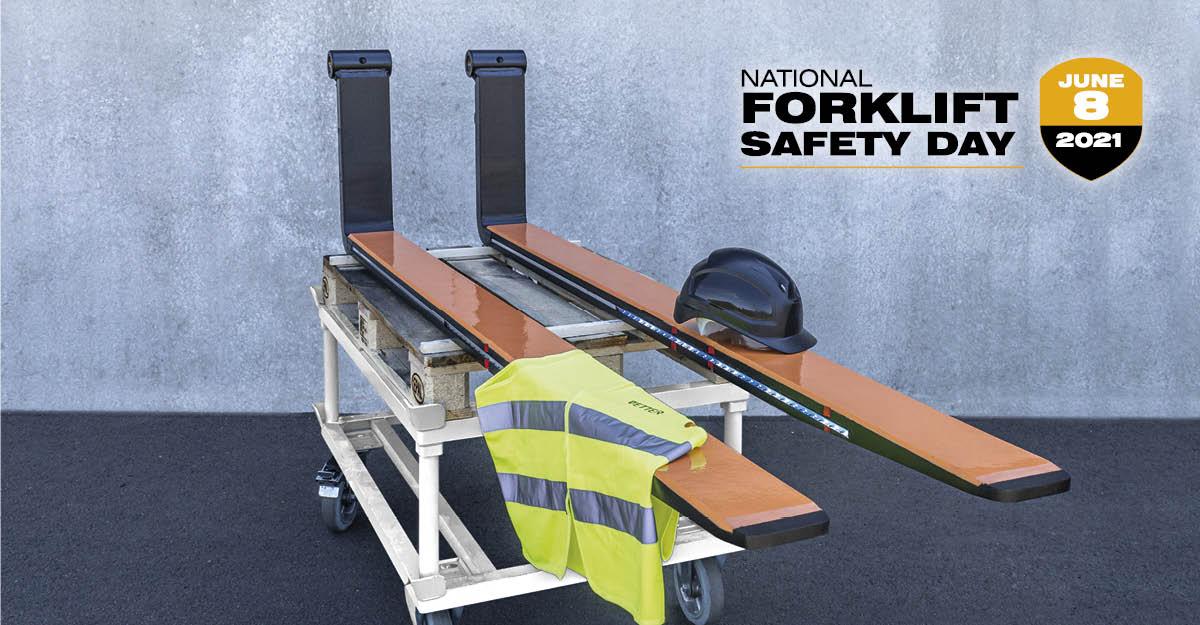 Today is National Forklift Safety Day: We make your logistics safer!