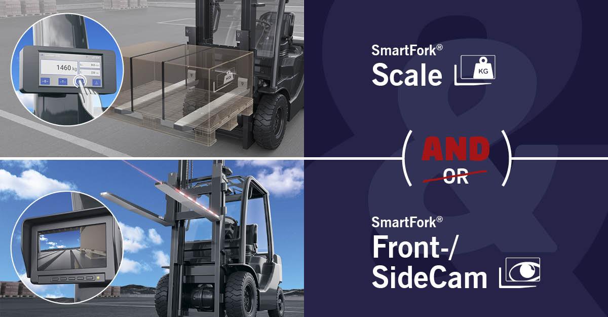 SmartFork Scale: the only weighing fork with SmartFork options!