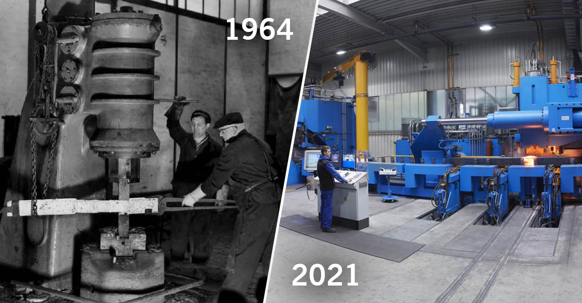 Future has origis: 57 years of experience in fork production